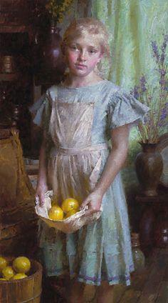Lemon Girl  by Morgan Weistling