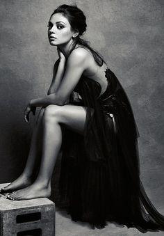 Mila Kunis   Happy Birthday!   GLAMOUR   photo by Robert Erdmann