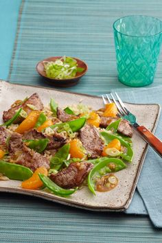 Quick, easy dinner idea: Stir-Fried Beef with Clementines