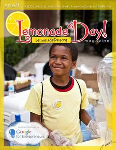 Lemonade Day virtual magazine highlights 9 Young Entrepreneur all stars from 2012