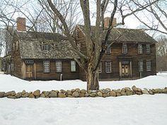 Hartwell Tavern,Concord,Massachusetts in winter