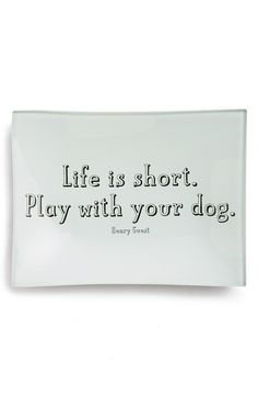 Life is short. Play