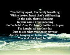 Lifehouse. Broken.