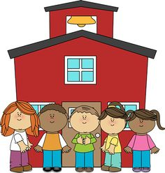 School kids from MyCuteGraphics sunday school, gift certificates, school free clipart, schools, clip art, school kids, languag, clipart school, teacher