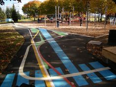 Addition of Color & Pattern | NIPPaysage | Landscape Architecture Works | Landezine