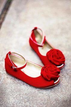 One Good Thread - Joyfolie - Revaline - Red Rosette - Open Toe Dress Shoe, $60.90 (http://www.onegoodthread.com/joyfolie-revaline-red-rosette-open-toe-dress-shoe/) SHOES FOR THE HOLIDAY <3