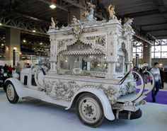 hearse cars of the 1920's from Spain, a cultural thing that seems to have disappeared