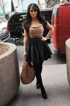 Kim Kardashian wears Dolce & Gabanna
