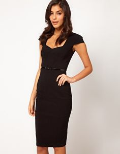 Enlarge ASOS Midi Pencil Dress with Belt