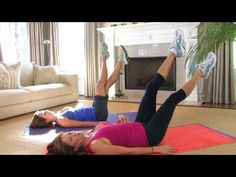 Working Your Core: How to Do Leg Scissors - Health & Fitness - ModernMom