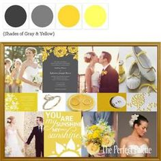 Palette of Yellow & Gray