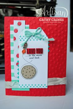 Artisan Wednesday Wow: Love You to the Moon and Back @Stampin' Up!