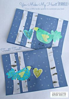 Adorable Winter Birds Cards