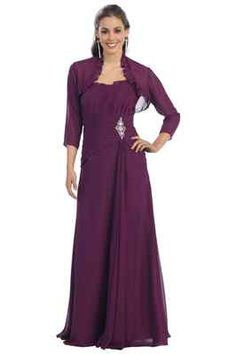 New Evening Gown Dress Mother of The Bride Groom Mini Jacket Plus Size Free SHIP | eBay