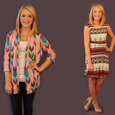 The perfect spring cardigan and another modest length dress. Live at 8pm cst!   (at http://www.hazelandolive.com)