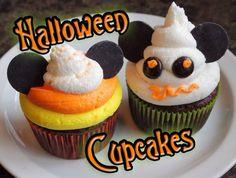 10 Delicious Halloween Cupcakes - Skinny Not Skinny