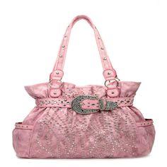 western light, handbag, pink rhineston, rhineston buckl, light pink