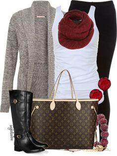 Winter Outftis // Louis Vuitton Bags