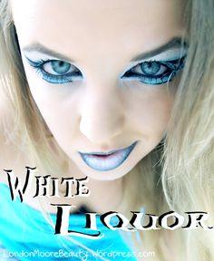Hunger Games Inspired Movie Makeup: White Liquor