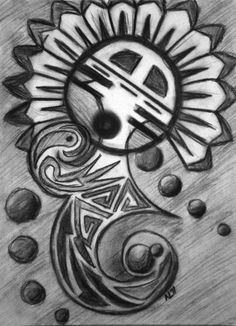 Hopi sun symbolHopi Sun Symbol