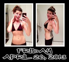"""Day 26 of my 30 Day Ab Challenge! It feels so awesome when you get through your 4 circuits and are like, """"Wait, I'm already done? That was really 4?"""" And then you skip off to the bathroom and strike some Pinterest poses feeling like a million bucks. Epic =D"""