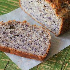 Blueberry Almond Bread Loaf
