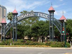 Hemisfair Plaza