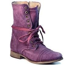Perfect Purple Game Day Boots