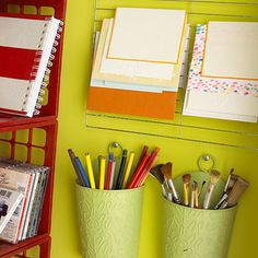 Stationary and Pen holders