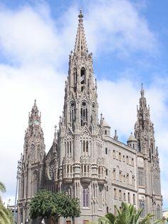 Catedral de Arucas. Gran Canaria. Islas Canarias