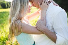 Casual engagement photography