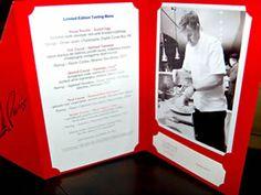 Gordon Ramsay Steak at Paris Tasting Menu