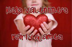 kids valentine's day party games