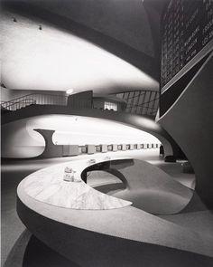 TWA Terminal, JFK Airport, Eero Saarinen, 1962