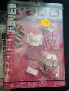 2 Fashion Fever Barbie Clothes and Accessories Packs | eBay
