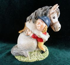 John Beswick Studio Sculptures I Forgive You Grey Pony Norman Thelwell Horse