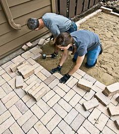 DIY Landscaping & Garden, Masonry Projects - How to Install a Paver Patio
