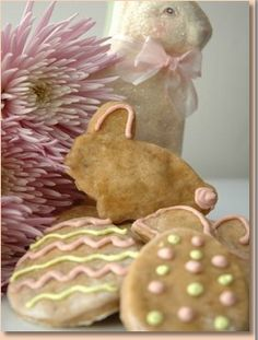 Bunny's Easter Delights are a great dog treat recipe from BunnyRooBeagle.com