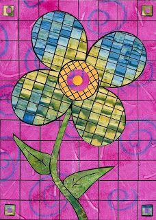 Lorrie Grainger Abdo: April 2009 ... another paper mosaic inspiration.... http://lorrieabdo.blogspot.com/2009_04_01_archive.html#