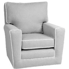 gray glider chair