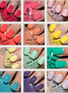 Fun summer nail colors