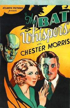 Movie Poster: The Bat Whispers (1930)