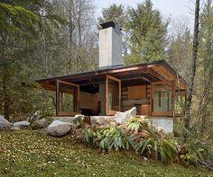 Tye River Cabin by architects Olson Sundberg Kundig Allen