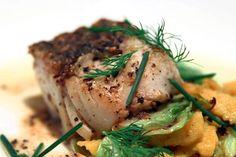 Lizzie Binder's Black Cod in Black Pepper Vinegar, Savoy Cabbage & Spaetzle, LCK