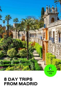 Seville and its alcázar make for a great day trip from Madrid. Whether you want to immerse yourself in nature or soak up Spain's rich history by strolling through historic neighbourhoods, take a look at these inspiring day trips from Madrid.  #CultureTrip #ForCuriousTravellers #Madrid #Spain #CityBreak #EuropeanDestinations   Photo: John Kellerman