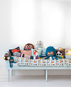 Pillow fight!  Pillows can be the best toys ever.  Ferm Living Spring 2011 happymundane.com