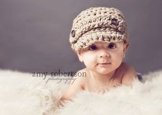 Adorable baby boy hat