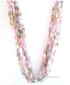 Bead #Crochet #Necklace #jewelry #gift #handmade by MoomettesCrochet, $16.00