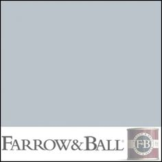 Parma Gray by Farrow & Ball. I had the hardware store match it with Benjamin Moore eggshell paint. (When I'm rich, I'll buy the real thing.) Now I'm about to paint on a sample. Exciting!