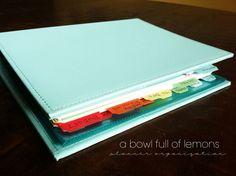 Planner organization | A Bowl Full of Lemons